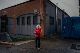ROMINA VECCHI Cassiera supermercato resilienti 2020